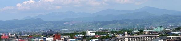 八甲田ホールからの風景